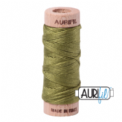 Aurifloss - 6-strand cotton floss - 5016 (Olive Green)